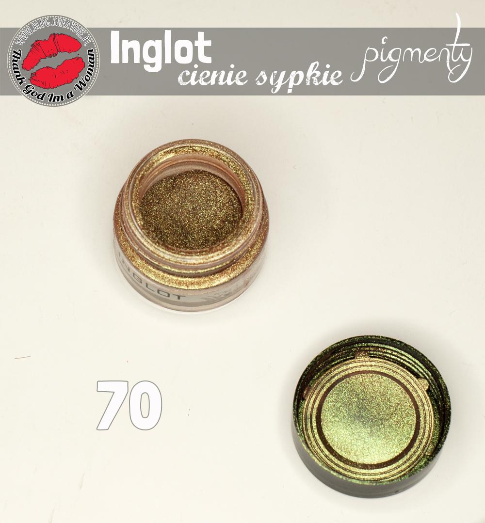 INGLOT cienie sypkie i pigmenty