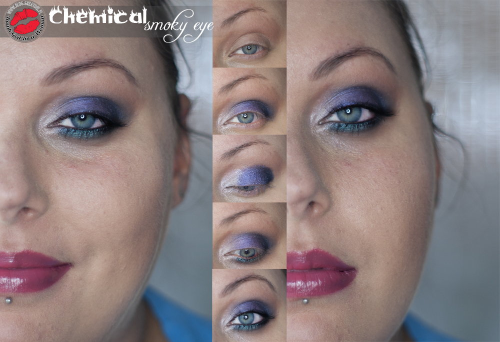MAKE-UP: Chemical smoky eye