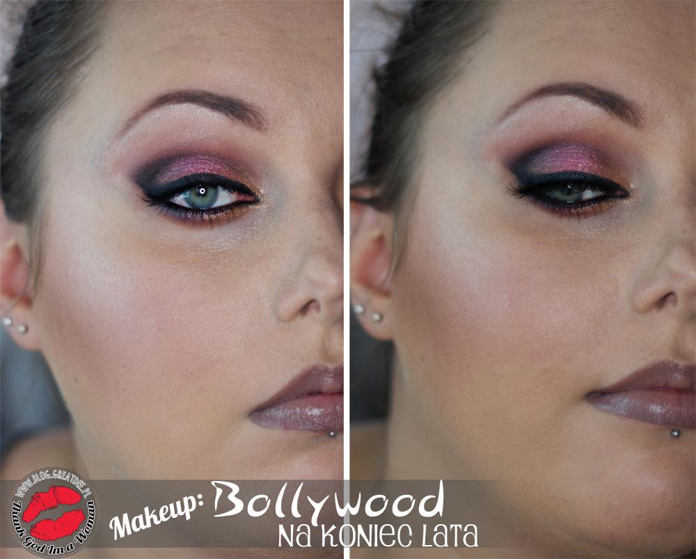 Make Up Makijaż Na Koniec Lata W Stylu Bollywood I Neonowy