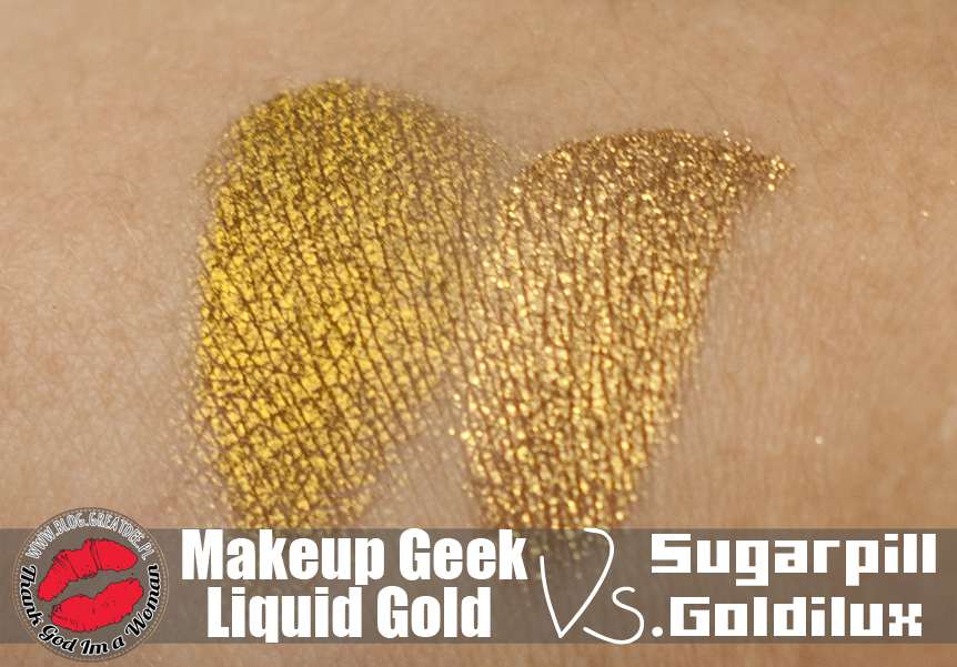 Versus: Sugarpill Goldilux Vs. MakeupGeek Liquid Gold