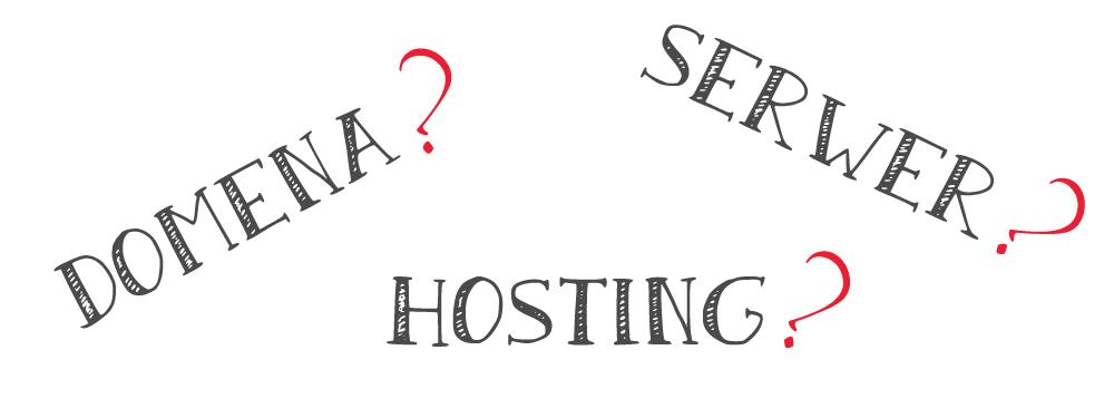 Co to jest domena? Hosting? Serwer? Tłumaczę to po ludzku ;)