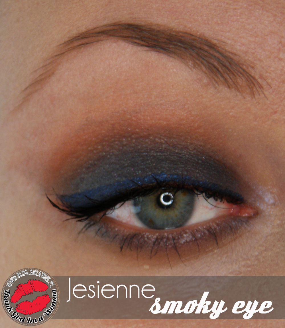 Make-up: Jesienne smoky eye z Earthnicity
