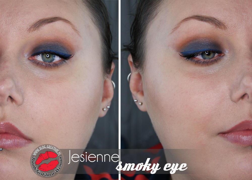 Make-up: Jesienne smoky eye z Earthnicity