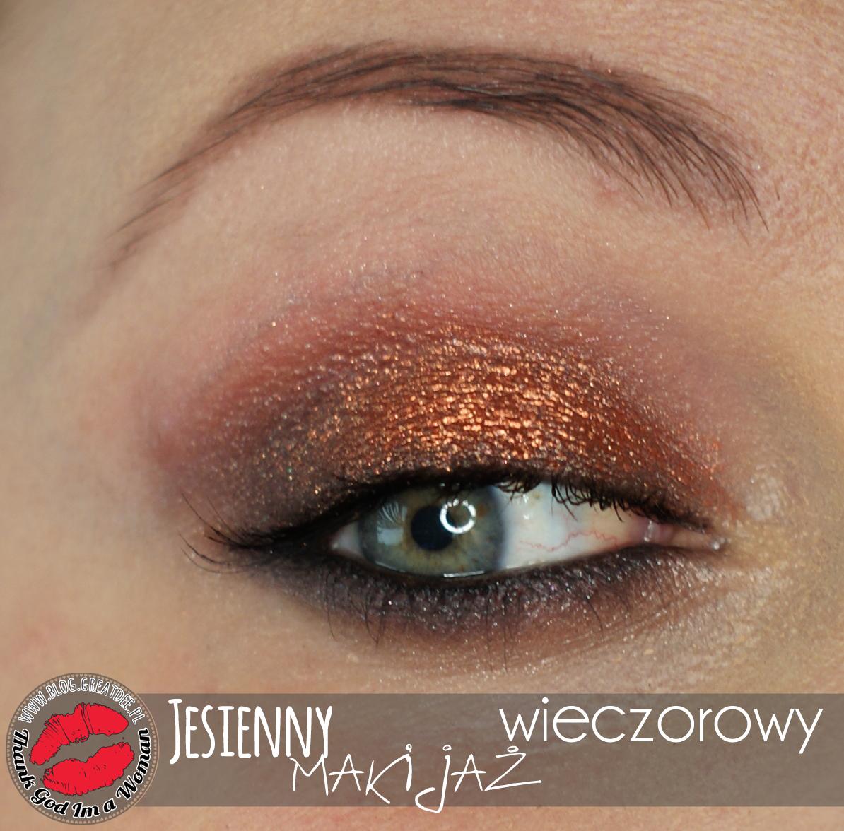 Makeup: Jesienny makijaż wieczorowy - przerobiony z dziennego