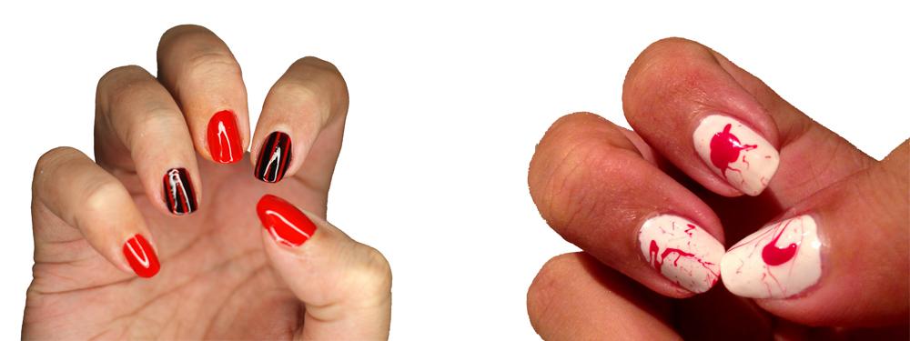 Manicure: na Halloween 2015