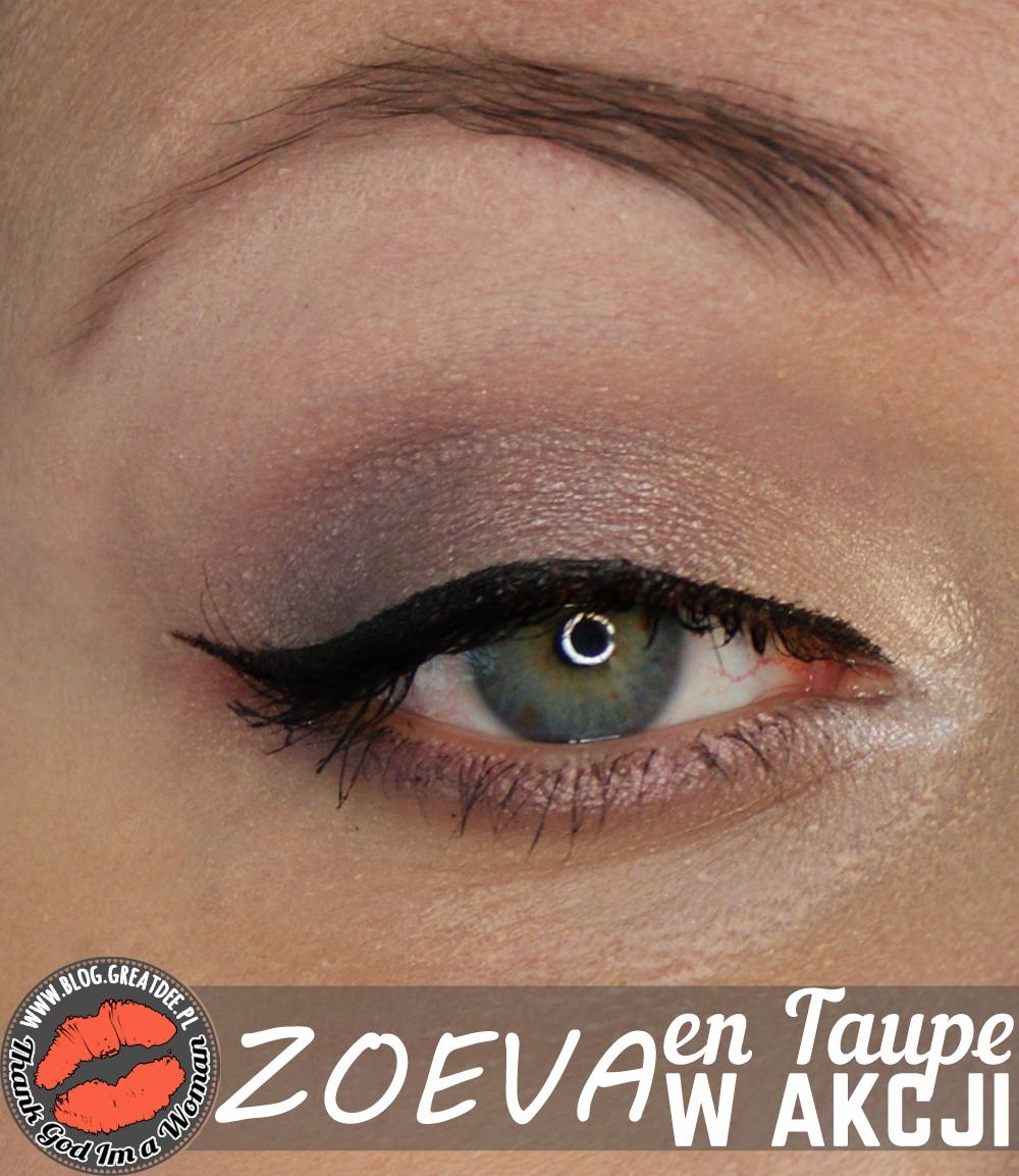 Make-up: Zoeva En Taupe w akcji