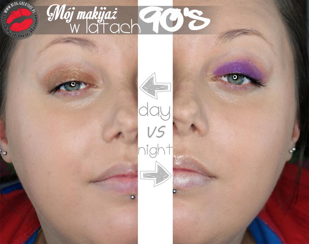 Mój makijaż z lat 90-tych... i początku 2000!