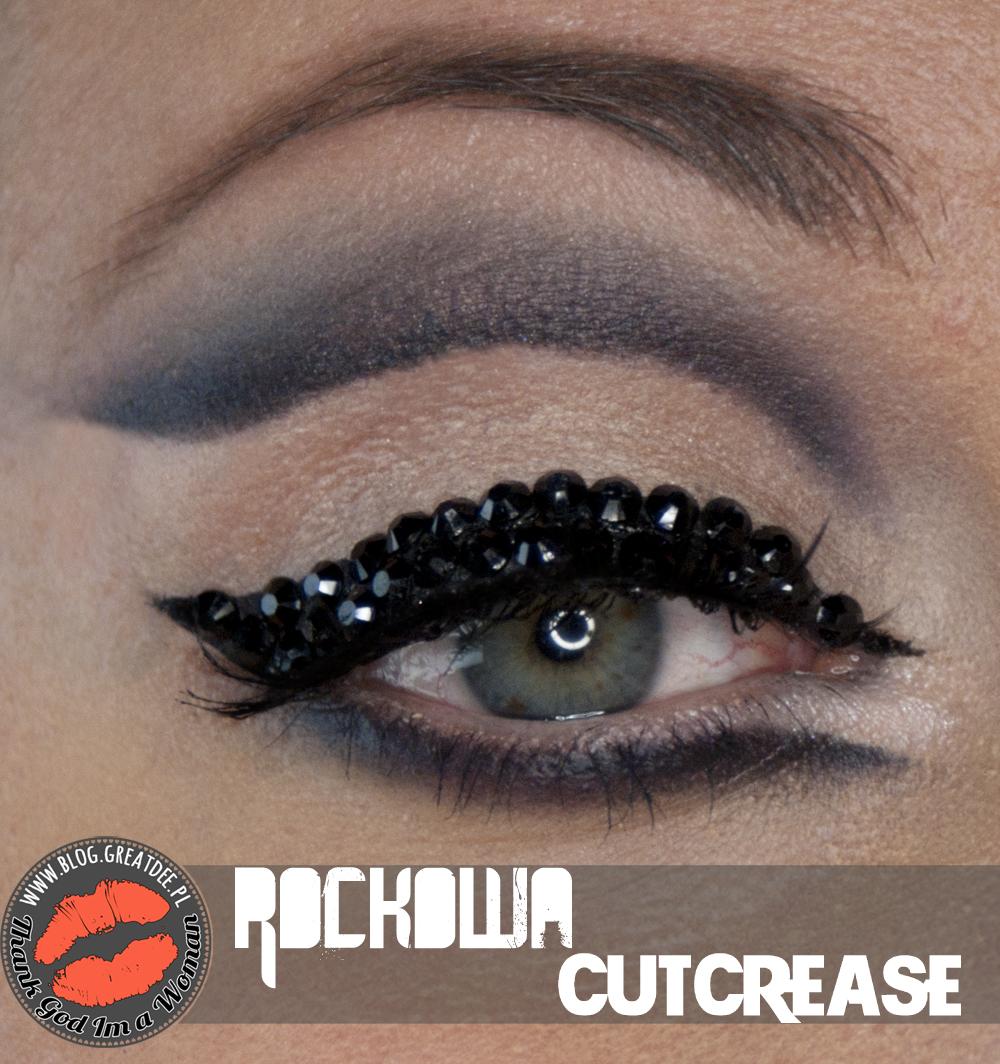 Rockowa kreska lub cutcrease