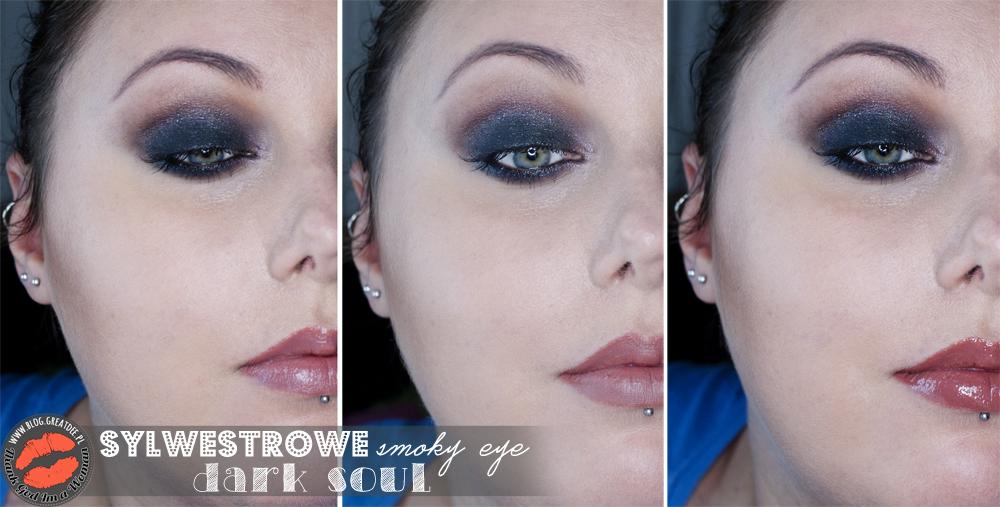 Make-up: Sylwestrowe smoky eye Dark Soul