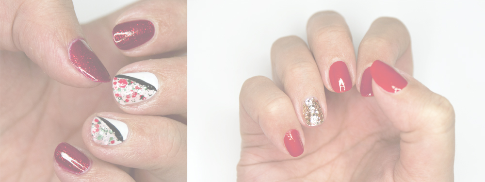 Manicure na Święta 2015!