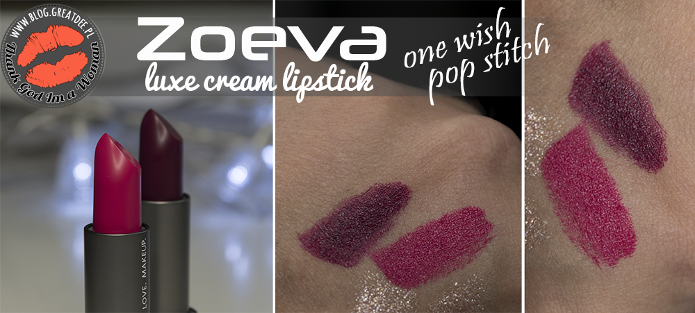 Zoeva Luxe Cream Lipstick One Wish i Pop Stitch