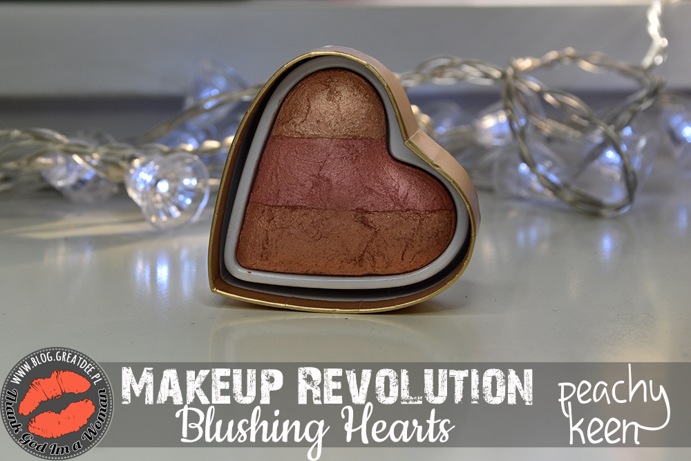 Makeup Revolution Blushing Hearts - Peachy Keen