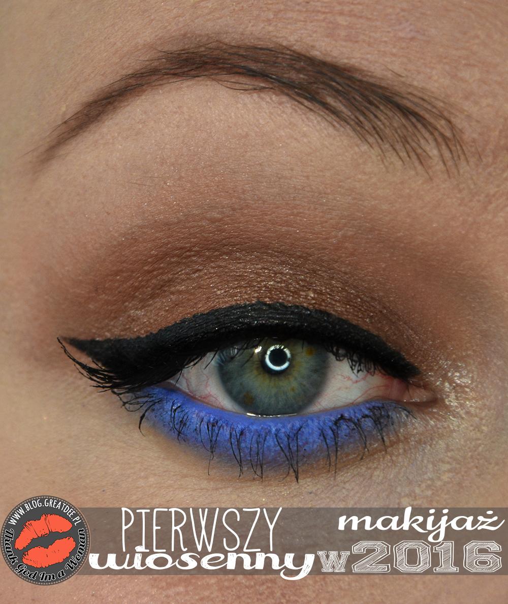 Make-up: Pierwszy wiosenny makijaż w tym roku