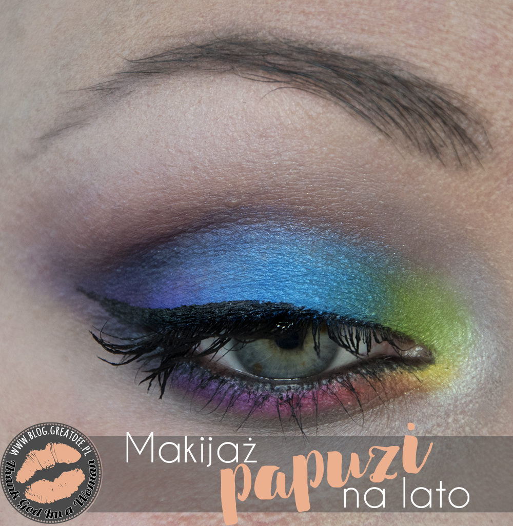 Make-up: Papuzi makijaż na lato Step by Step