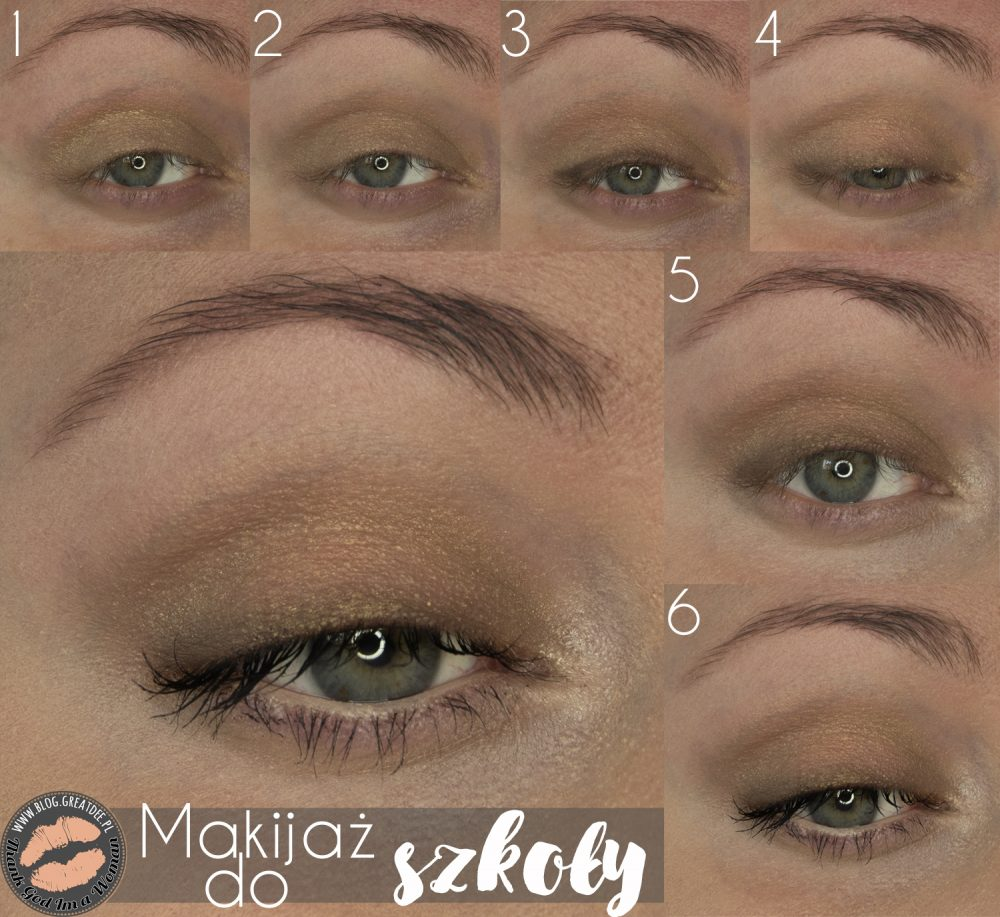 Make-up: Makijaż odpowiedni do szkoły | Tutorial