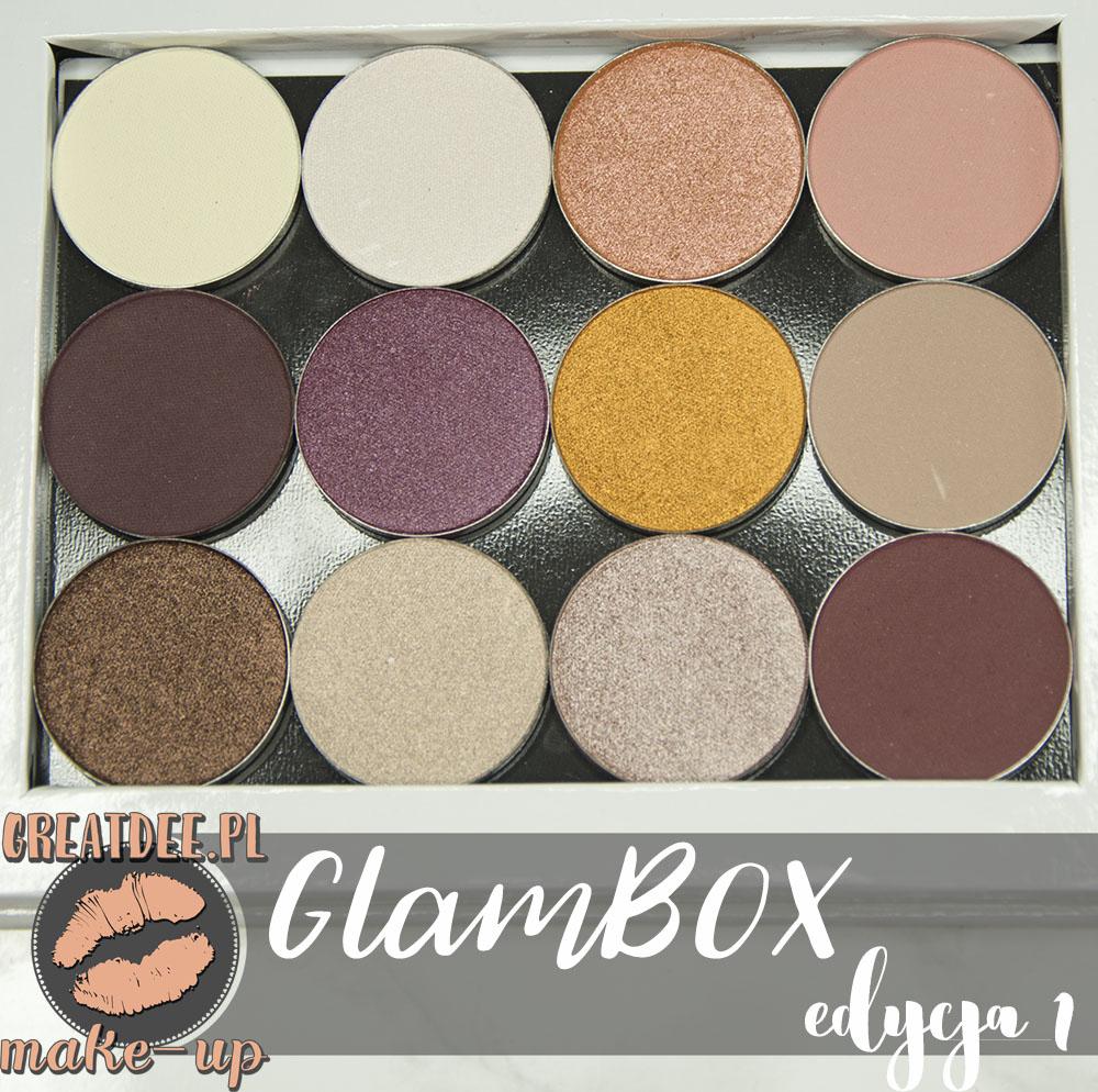 GlamBOX edycja 1 paletka limitowana