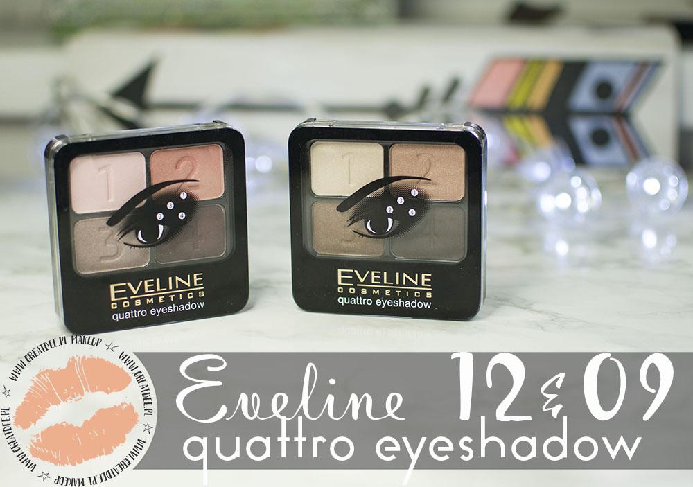 Eveline Quattro Eyeshadow 09 i 12