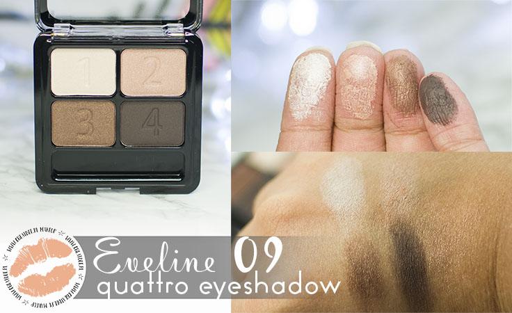 Eveline Quattro Eyeshadow 09