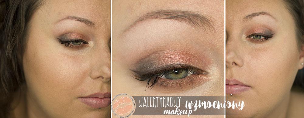 Makijaż walentynkowy wzmocniony | Tutorial
