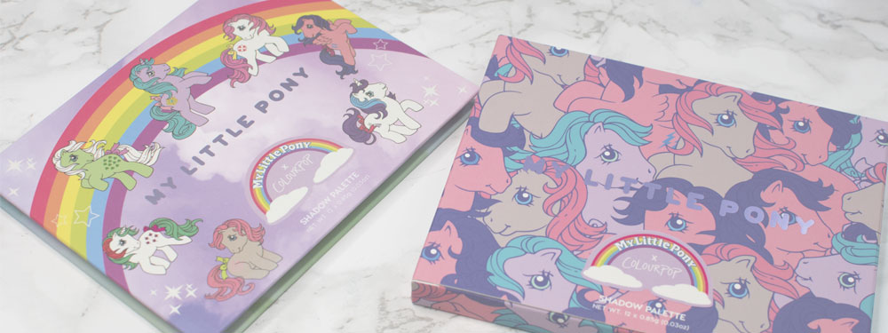Colourpop My Little Pony paleta cieni recenzja
