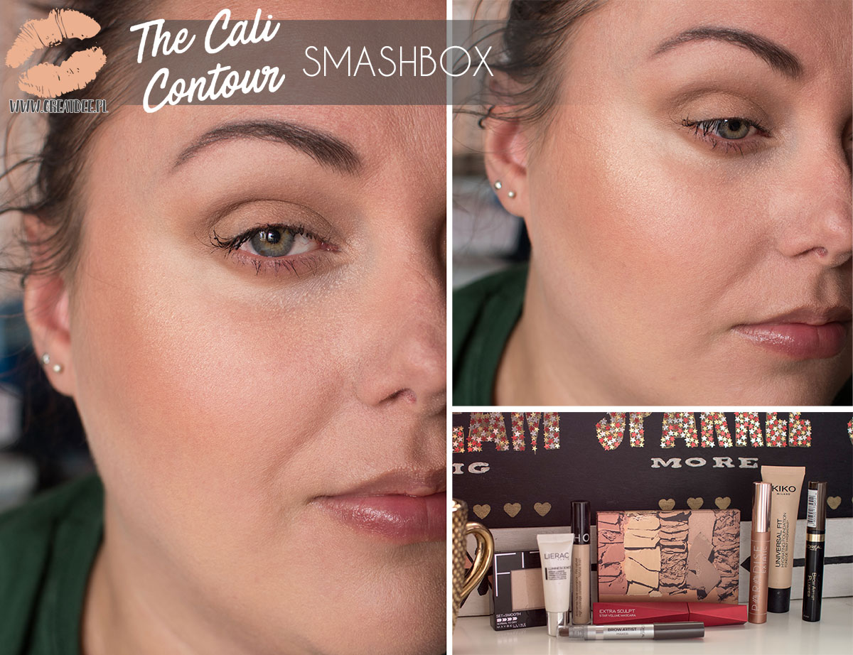 The Cali Contour SMASHBOX makeup makijaż
