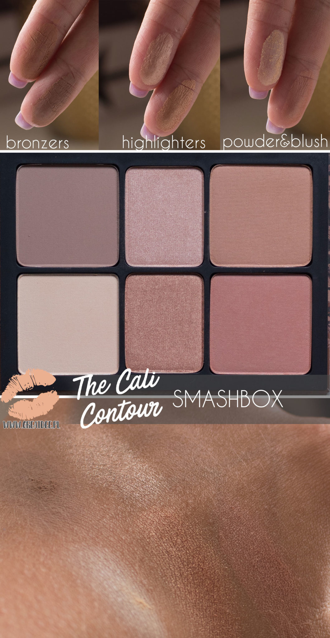 The Cali Contour SMASHBOX swatch
