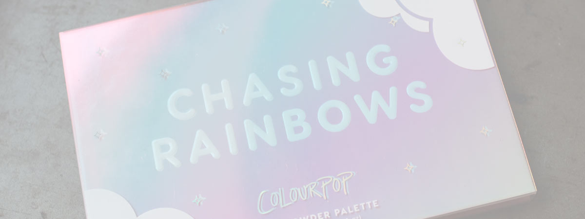 Chasing Rainbows Colourpop | kolorowa paleta
