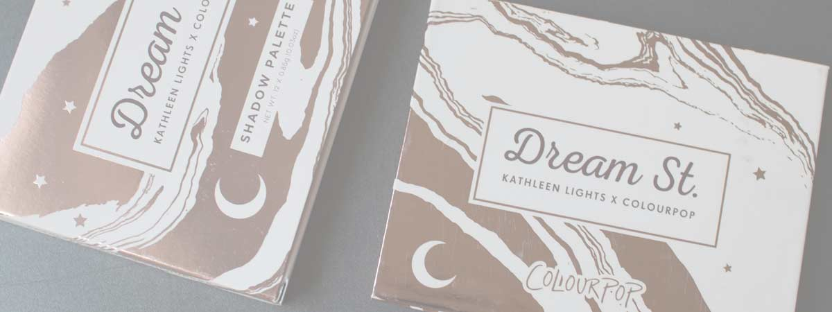 Dream St. Colourpop | paleta Kathleen Lights