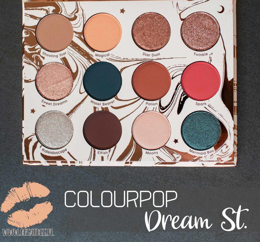Dream St. Colourpop | paleta w środku